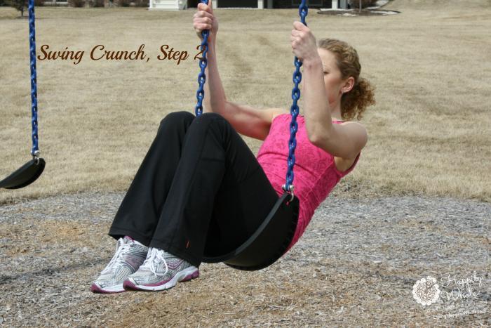Swing Crunch, Step 2