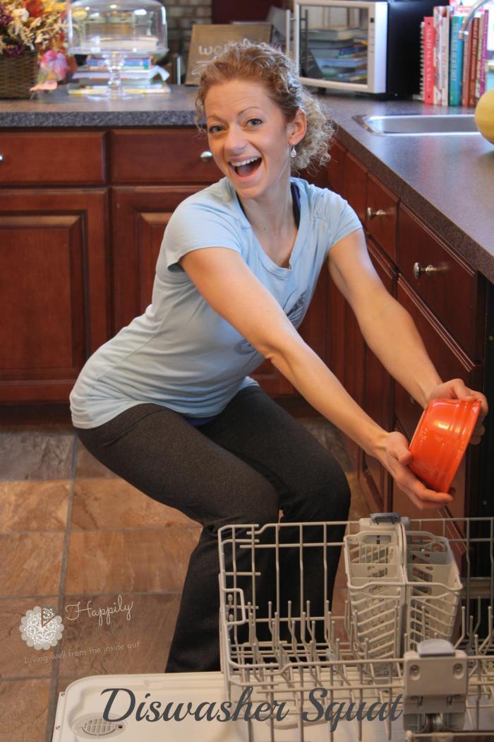 Dishwasher squat