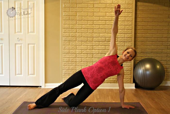 Side Plank Option 1