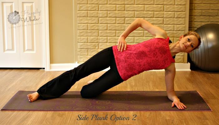 Side Plank Option 2