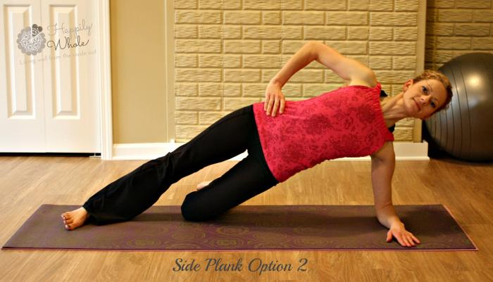 Side Plank Option 2