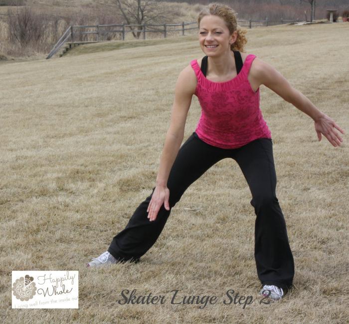 Skater Lunge Step 2